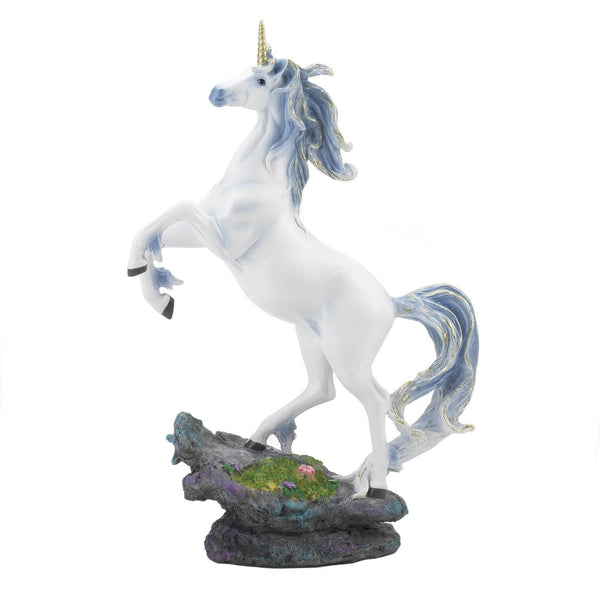 Rearing Unicorn Figurine