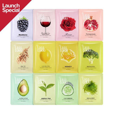 Lasstokki Cucumber Delight Sheet mask
