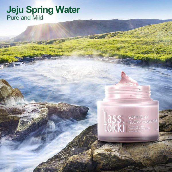 Lasstokki Soft Clay Glow Mask Pink