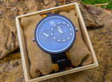 Dual Blue Unisex Watch