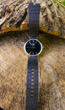 Veneer Unisex Watch Black
