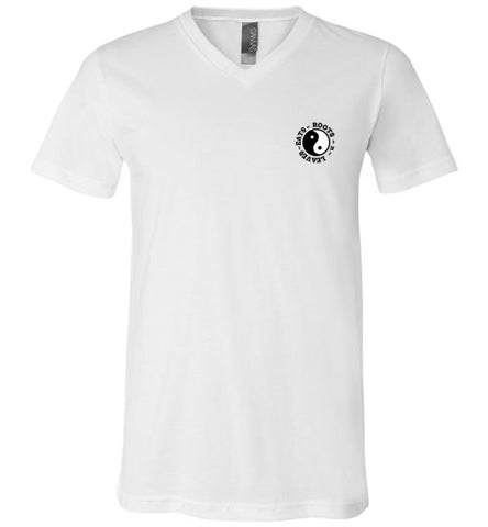 YING AND YANG VNECK UNISEX TEE