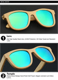 Classic Wood Polarized Sunglasses Men and Women