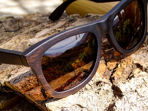 Stompers Wooden Sunglasses