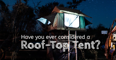 in rooftop tents