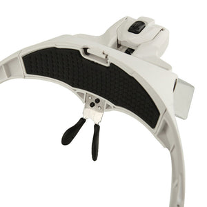 Superb™ Headband LED Lamp with 5 Prime Grade Magnifier Lens
