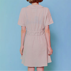 [Pre-Order 5-12 Days] Little Often 2018 Basic Collar Dress