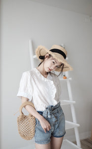 [Pre-Order 5-12 Days] Little Often 2018 Romantic Lace Blouse