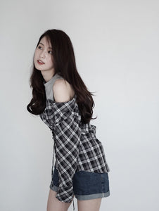 [Pre-Order 5-12 Days] Little Often 2017 Charming Shirt With Corset