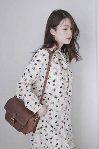 [Pre-Order 5-12 Days] Little Often 2017 Vintage Floral Print Dress