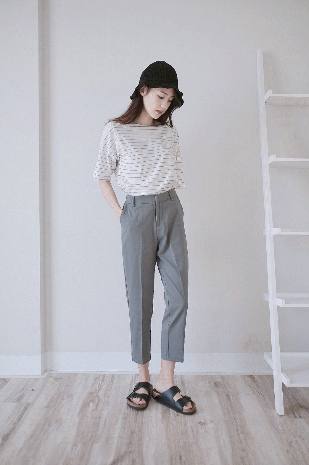 [Pre-Order 5-12 Days] Little Often 2017 Suit Pants Casual Style