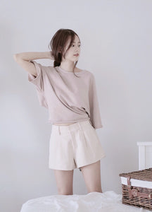 [Pre-Order 5-12 Days] Little Often 2017  Comfy Mid-Waist Shorts