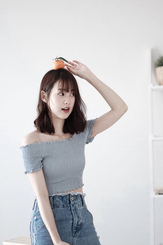 [Pre-Order 5-12 Days] Little Often 2018  Sweet crop top