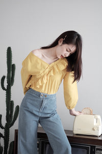 [Pre-Order 5-12 Days] Little Often 2018 Ruffle Trim Top