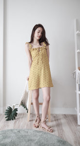 [Pre-Order 5-12 Days] Little Often 2018 Polka Dot Mini Dress