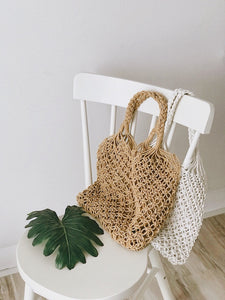[Pre-Order 5-12 Days] Little Often 2018 Summer Knit Canvas Bag