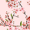 Blossoms on S. Candy Pink Logo