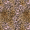 Leopard - Pink & Brown Logo