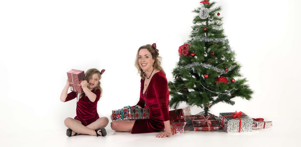 Moeder dochter kerstjurken Just Like Mommy'z mommy and me outfits