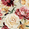 Roses on Cream Logo