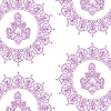 Lilac Purple on White Logo