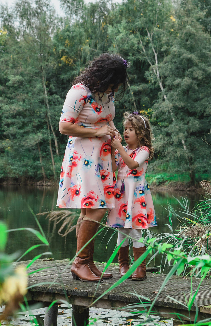Twinning jurken moeder dochter kleding- matching dresses by Just Like Mommy 'z