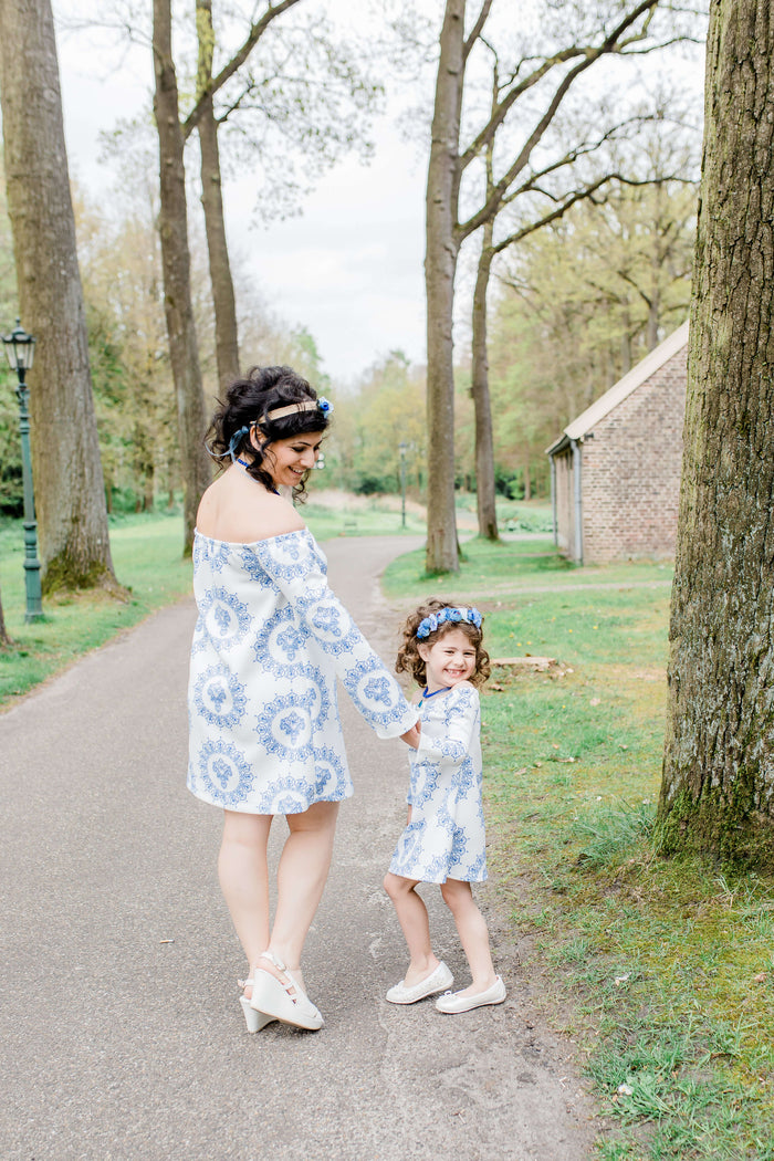 Spring Love floral hair band | Mama & Me