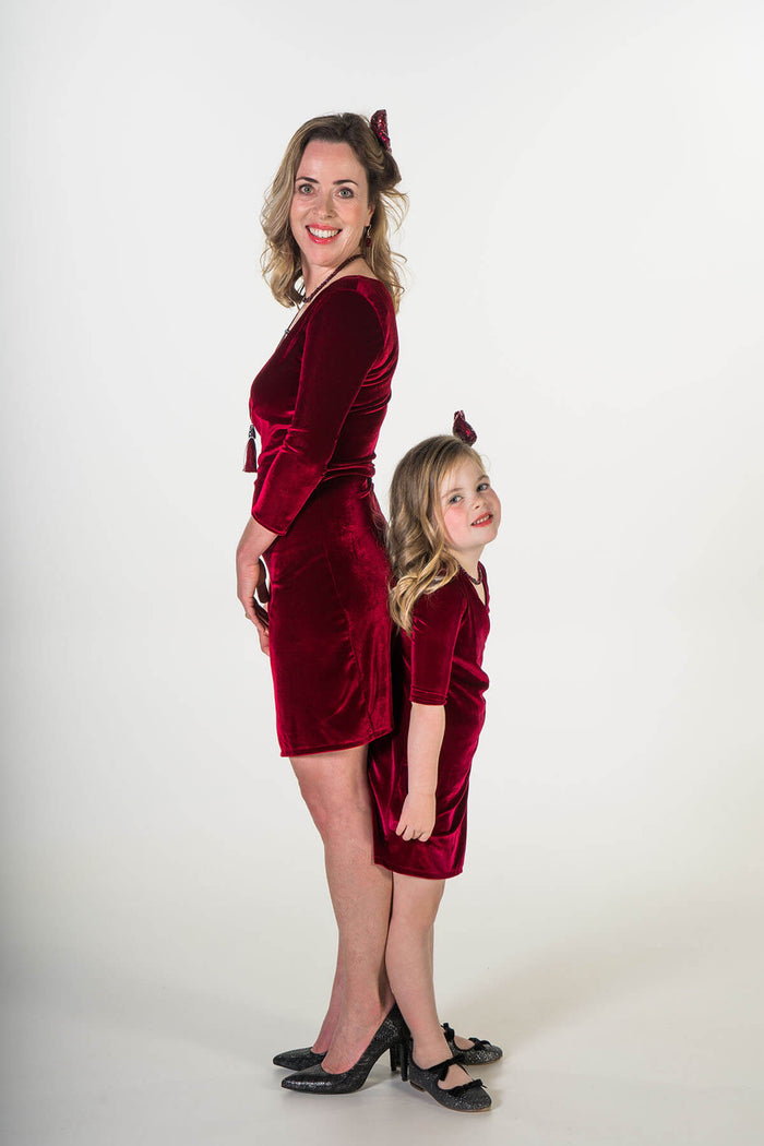 Moeder dochter kleding -Twinning jurken voor feests - matching party dresses by Just Like Mommy 'z