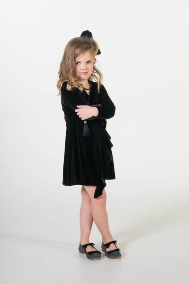 Valentina velvet party dress ME - Moeder dochter matching kleding en accessoires - twinning jurken - feestjurken - Mother daughter matching dresses | Just Like Mommy'z | Christmas Holiday Collection - Kerst Collectie - mummy and mini me