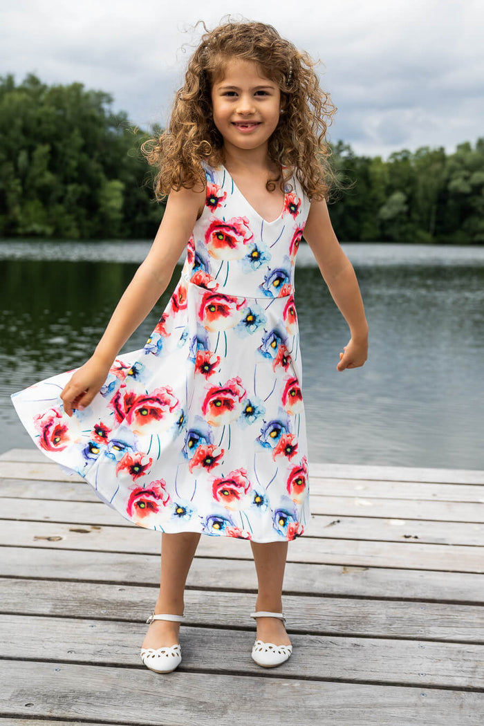 Moeder en dochter twinning jurk - chic mama & mini me matching dresses for summer by Just Like Mommy 'z