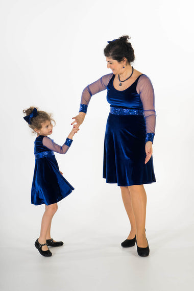 Moeder dochter matching kleding - twinning jurken - feestjurken - Mother daughter matching dresses | Just Like Mommy'z | Christmas Holiday Collection - Kerst Collectie - mummy and mini me