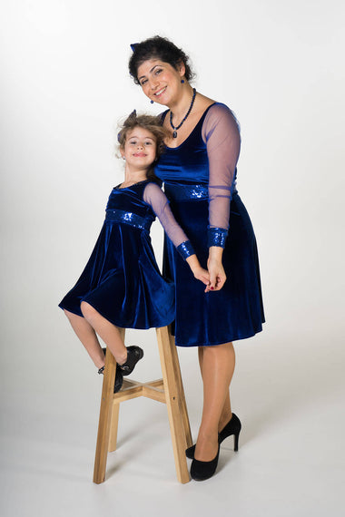 Moeder dochter matching kleding - twinning jurken - feestjurken - Mother daughter matching dresses