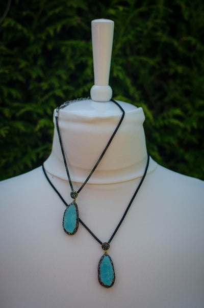 Turquoise Dreams necklace I Mama & Me