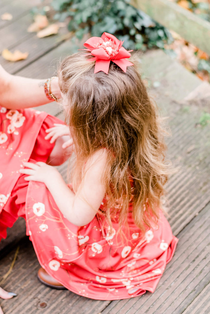 Blossoms hair bow | Mama & Me