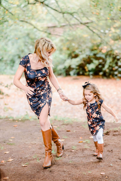 Twinning jurken moeder dochter kleding- mummy & me - mother daughter matching dresses by Just Like Mommy 'z