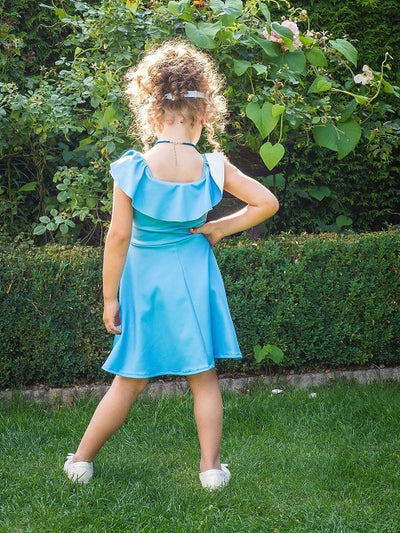 Moeder dochter jurk - Twinning set - Just Like Mommy'z matching dresses - romantic senorita twinning dress - Mine Me outfits