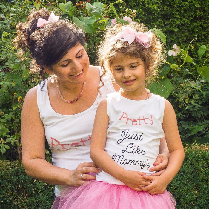 Shades of Pink necklace | Mama & Me