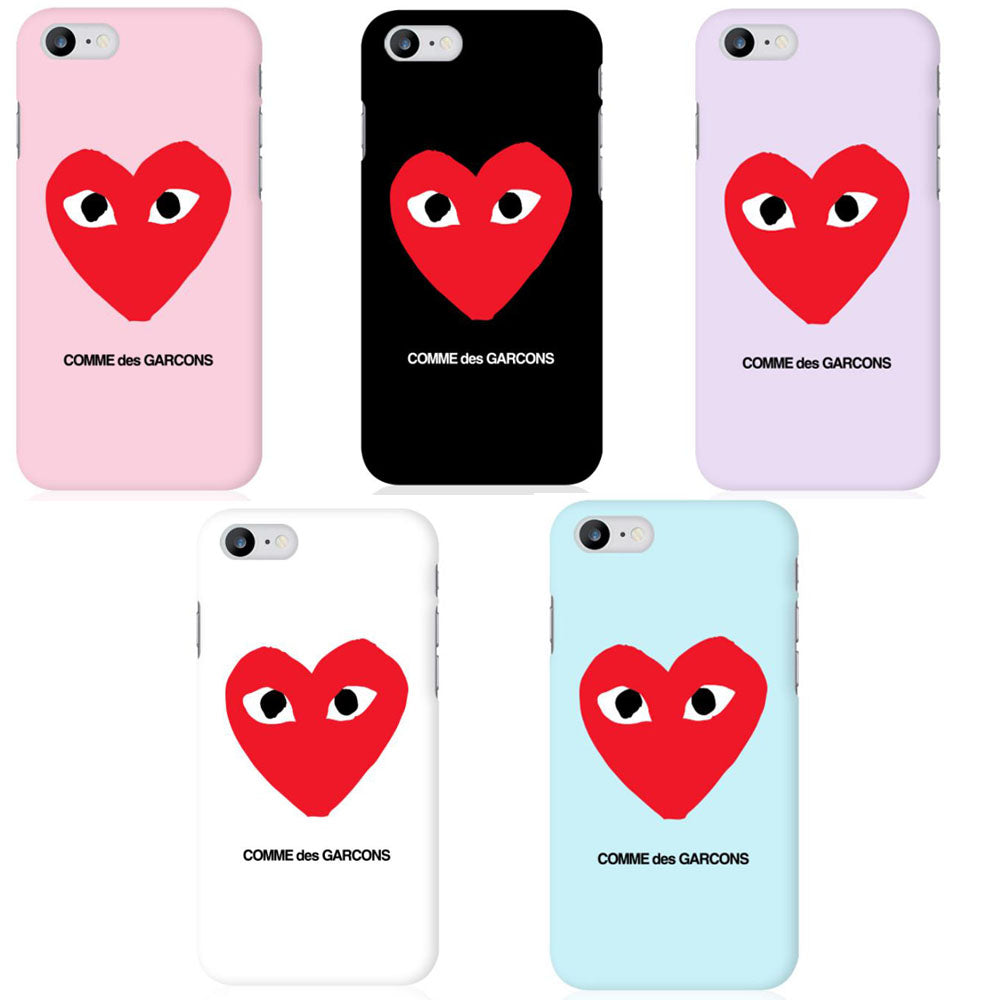 save off aecbe cea9a Comme des Garcons Simple Custom Matte Hard Phone Case for iphone 5,6,7  Plus, Samsung Galaxy S6,7,8, Plus , LG G5,6