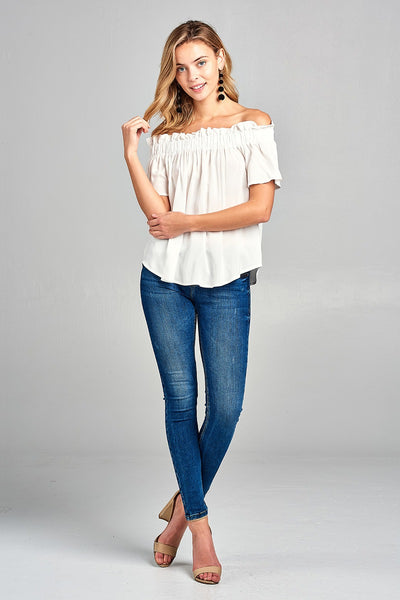 Bubble Hem Top