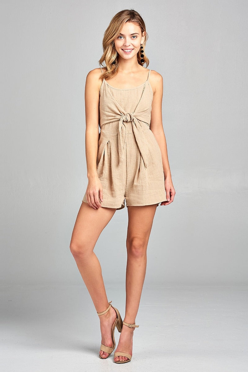 Cami Scoop Fashion Romper