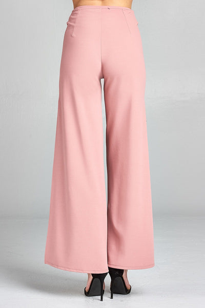 Fashion Statement Belted Trousers