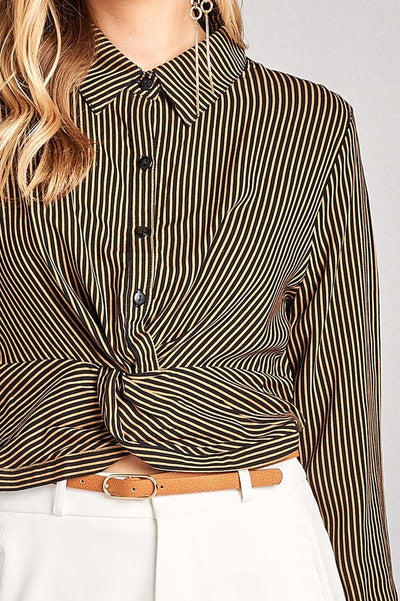 Allure Fashion Statement Button Up