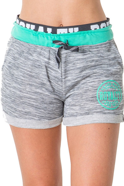 ROYALTY French Terry Drawstring Shorts