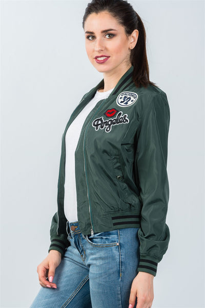 Angeles Bomber Jacket