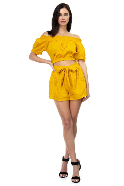 Sunshine Top & Shorts Set