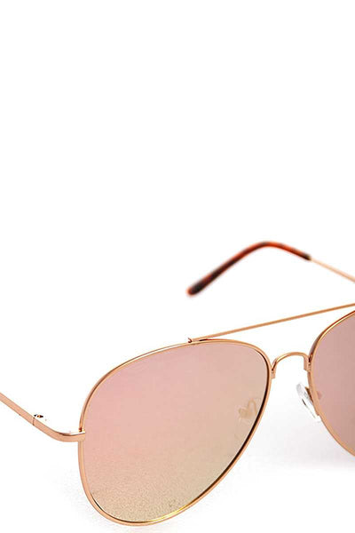 Everything Pink Aviator Sunglasses