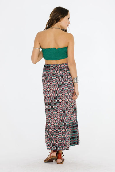 Electric Nights Maxi Skirt