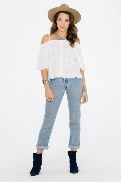 Swift Cold Shoulder Top