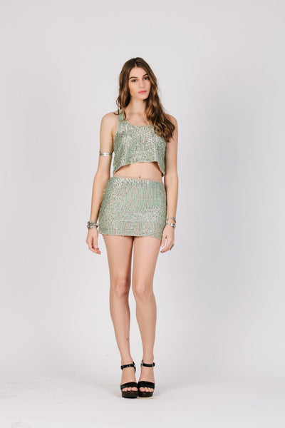 Glitz & Glam Mini Skirt