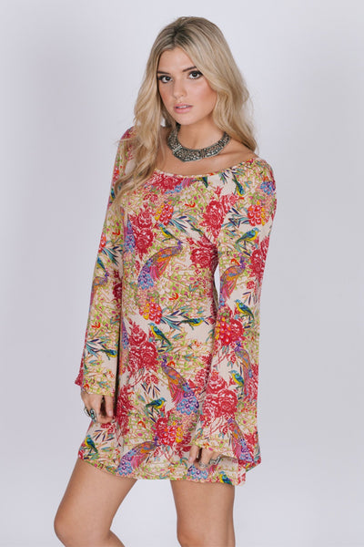 Birds Of Paradise Tunic Dress